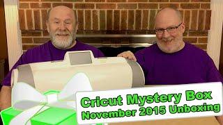 Cricut Mystery Box - November 2015 Unboxing