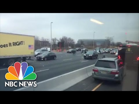 DJ KS-1 - ARMORED TRUCK MADE IT RAIN MONEY ON NJ HIGHWAY