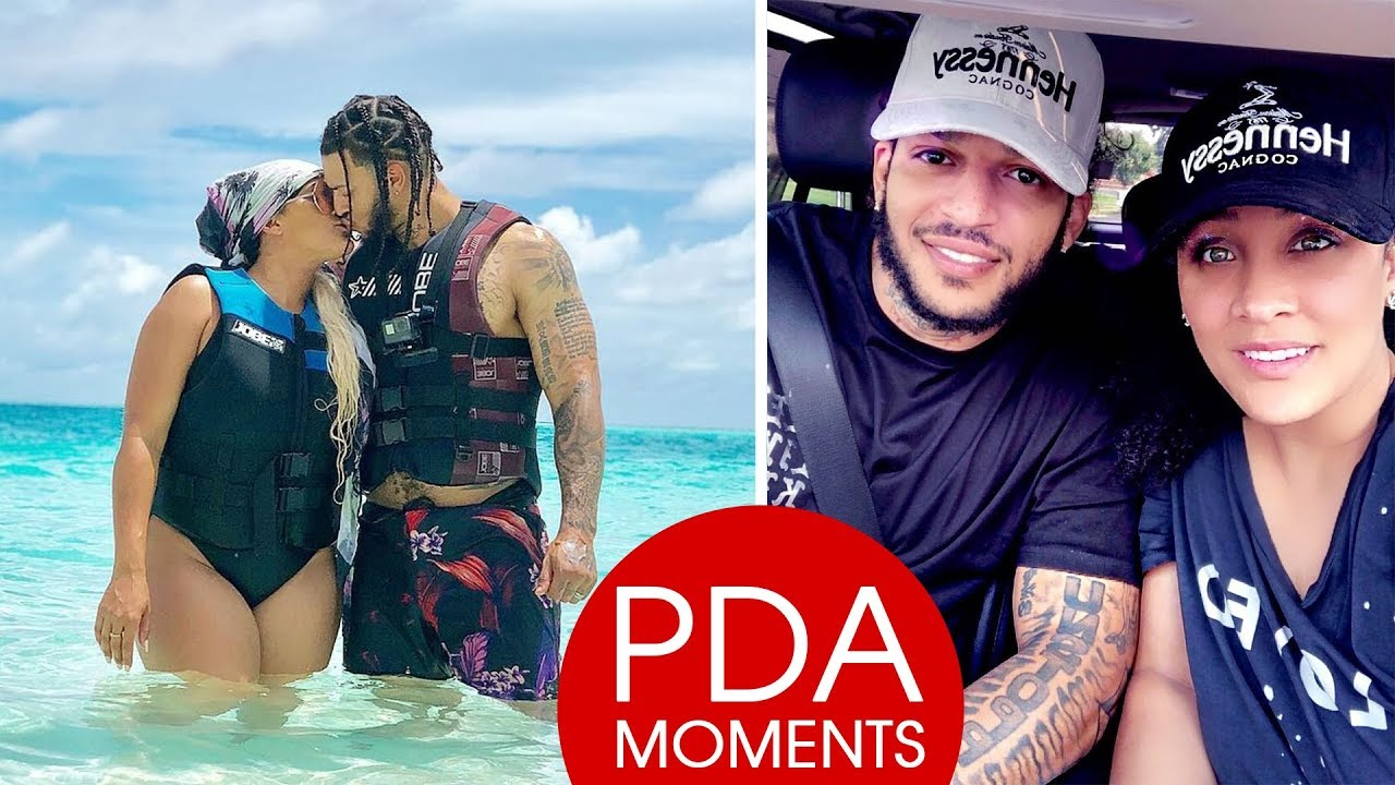 Natalie Nunn And Her Husband Jacob Payne Pda Moments 2018 Youtube