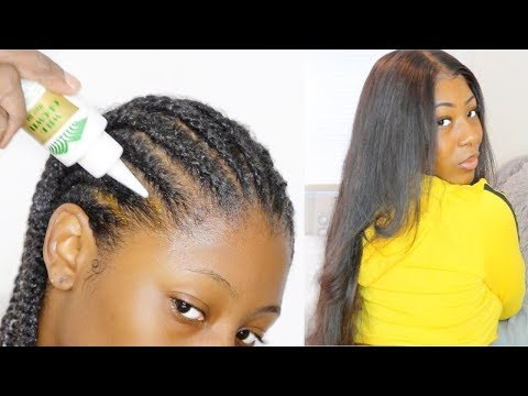 my-type-4-natural-hair-wig-prep-routine-for-fast-hair-growth-//-ali-peerless-hair