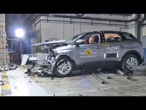 Peugeot 3008 (2017) CRASH TEST