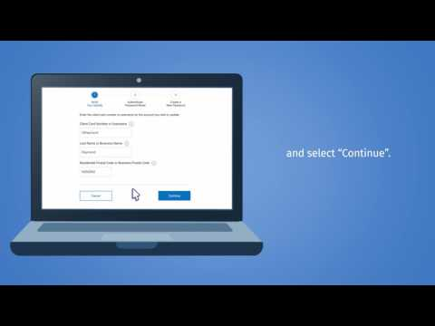 How to Reset Your Password for RBC® Online Banking