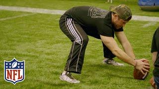 Former Seahawk Nate Boyer Sets Guinness World Record for Longest Long Snap | NFL