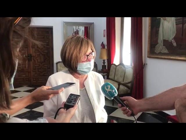 Charo Cordero agradece Medalla de Extremadura a la Diputación de Cáceres