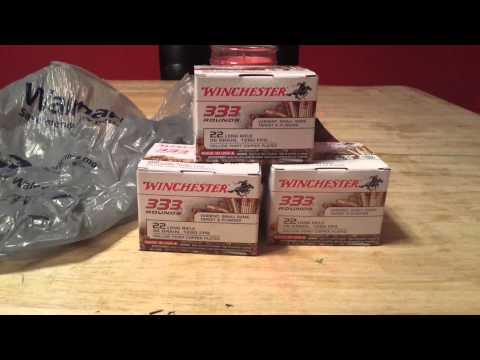 22LR Ammo Score & Cursed out by Walmart employee!!