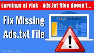 How To Fix Missing Ads.txt File Notification in Adsense Mp3