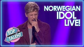 Incredible LIVE Performances On Norwegian Idol! | Top Talent