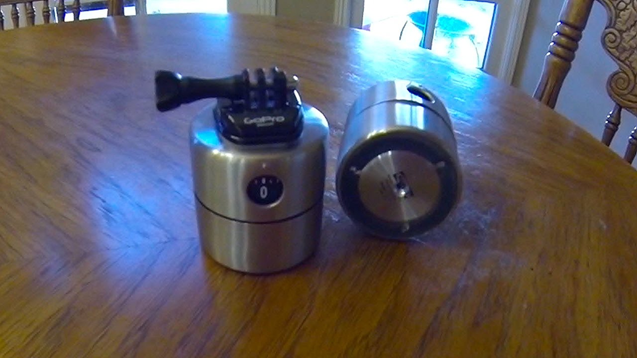 DIY GoPro Time Lapse Swivel / How To Build - YouTube