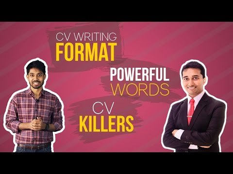 CV Writing Format, POWERFUL Words & CV Killers | Ayman Sadiq