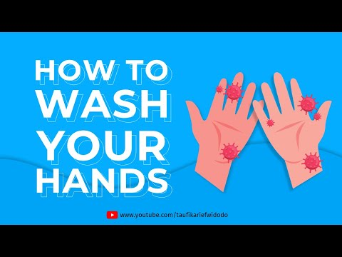 How To Wash Your Hands by WHO | Animation Powerpoint Template | Motion Graphics Powerpoint