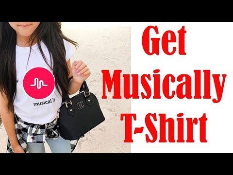 Musically T Shirt made in USA