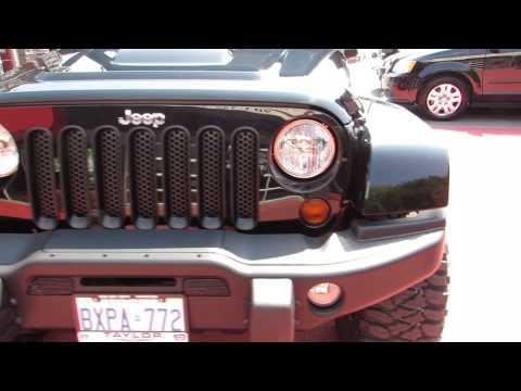 2012 Jeep Wrangler Unlimited Call of Duty MW3 Limited Edition 20 INCH XD ROCKSTAR 2 RIMS BAJA MTZ