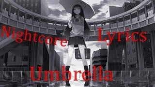 Nightcore - Umbrella [Rock Cover]
