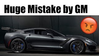 GM Makes HUGE Mistake on the 2019 ZR1 😡 | Customers Affected!!