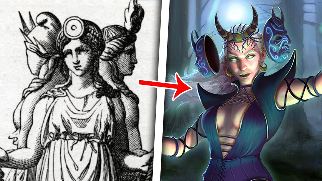 The Messed Up Origins™ of Hecate, Goddess of Witchcraft   Mythology Explained - Jon Solo