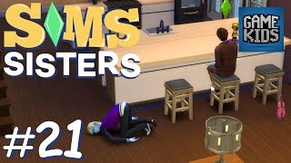 The Girls Work An All-Nighter - Sims Sisters Episode 21