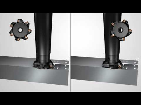 Tips film: Milling cutter pitches