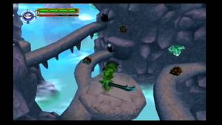 Maximo Vs. Army Of Zin Walkthrough (PS2) level 11: perilous Path!!! (Mastered)
