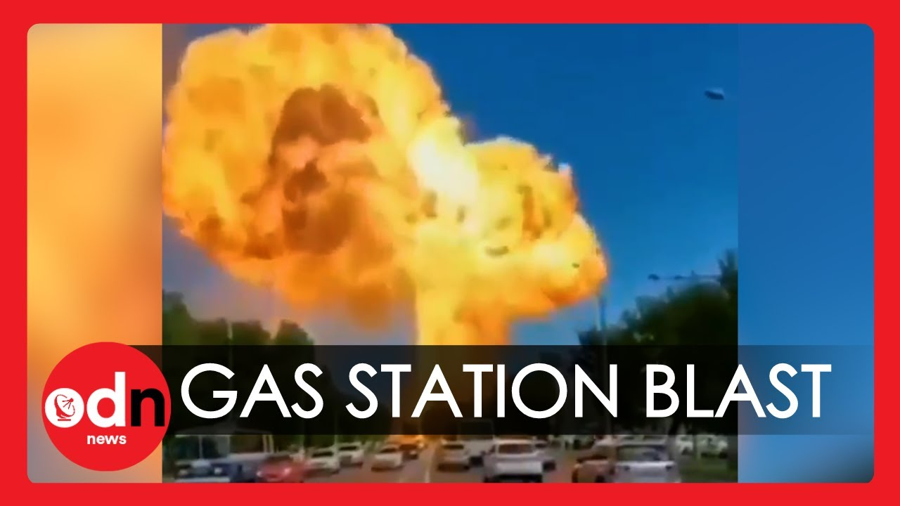 Massive Explosion at Gas Station in Russia Releases Huge Mushroom Cloud