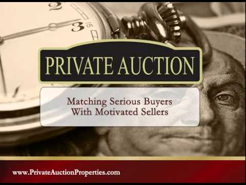 Private Auction Properties - A Better Way To Buy Real Estate