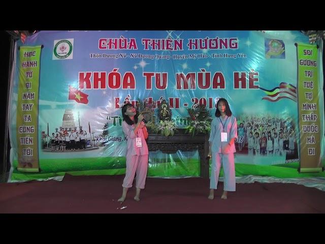 Khóa tu mùa hè chùa Thiên Hương năm 2018 Ca khúc