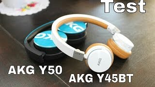 TEST : casques audio AKG Y50 TEAL & AKG Y45BT