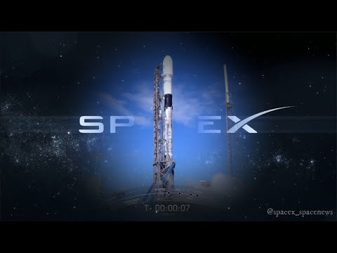SpaceX StarLink launch (Summarized timelapse in 4K)