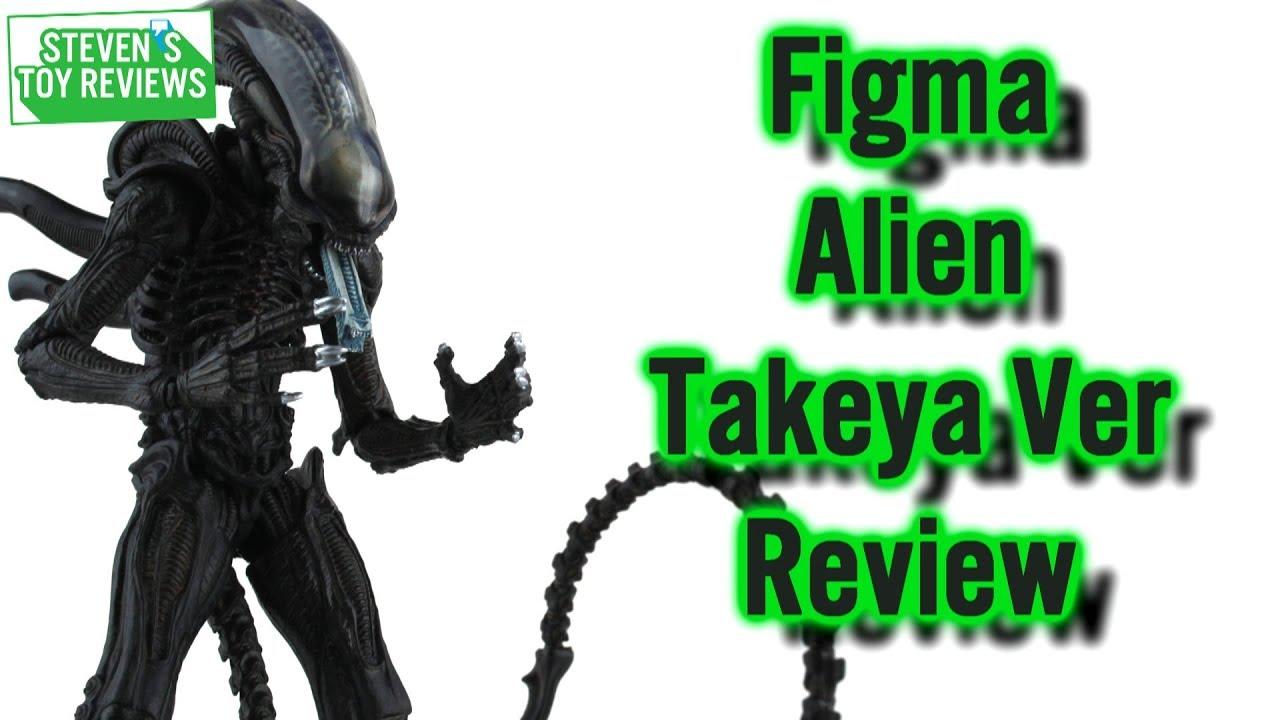 Action Figure w//Tracking NEW Good Smile Company figma Alien Takayuki Takeya ver