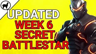 New Week 6 Secret Battlestar Location | Blockbuster Challenge Week 6 | Fortnite Battle Royale