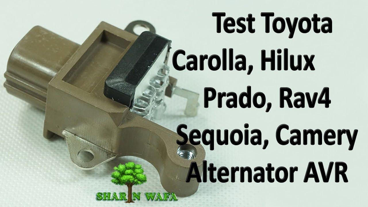 How To Test Denso 4pin Alternator Avr