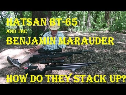Review; Head to head the Hatsan BT65 or Benjamin Marauder