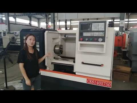 High Speed CNC Horizontal Lathe Machines Price CK6140 ...