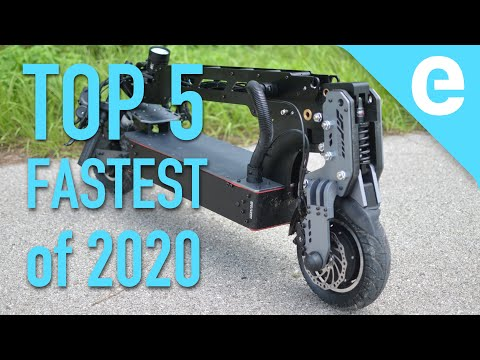 Top 5 fastest electric scooters of 2020