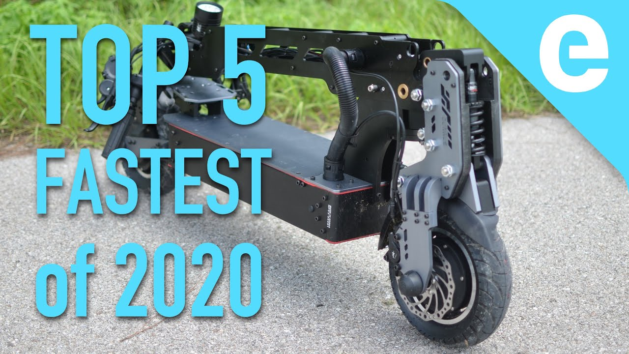 E scooter test 2020