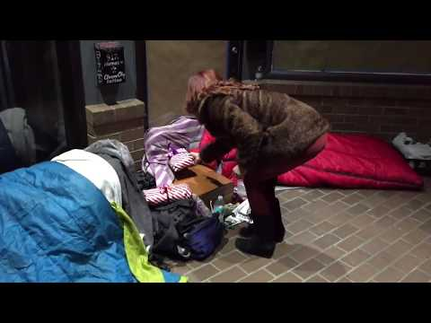 Barbara Ireland - Holiday Presents For the Homeless in Seattle