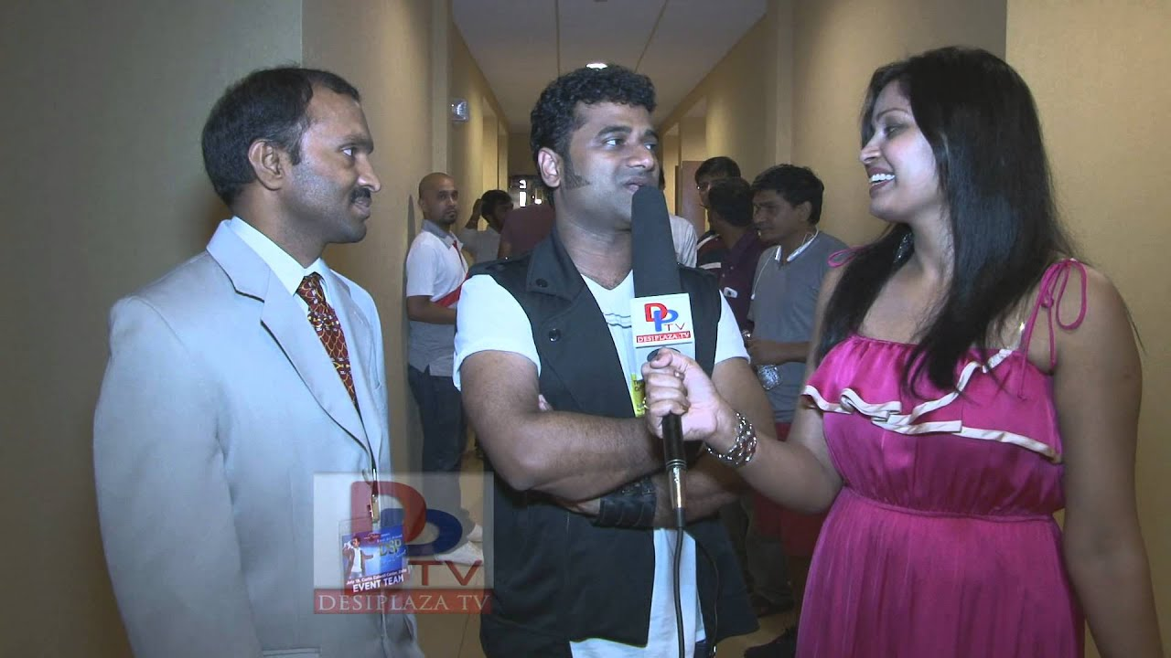 Devi Sree Prasad(DSP)  giving exclusive interview at DSP concert in Dallas,Texas.