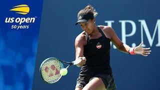Naomi Osaka Dispatches Laura Siegemund on Grandstand at the US Open