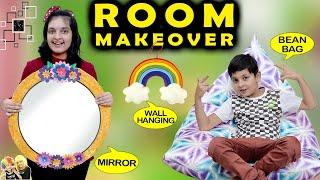 ROOM MAKEOVER   Aayu Pihu ko new room chahiye   Short Movie #DIY   Aayu and Pihu Show