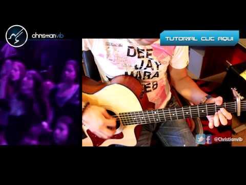 Sabes – REIK – Acustico Cover Guitarra Acustica Tutorial Christianvib
