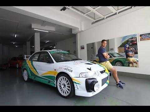 El Mitsubishi Lancer Evo VI ex Germán Castrillón estará en el Rally de Ourense 2020