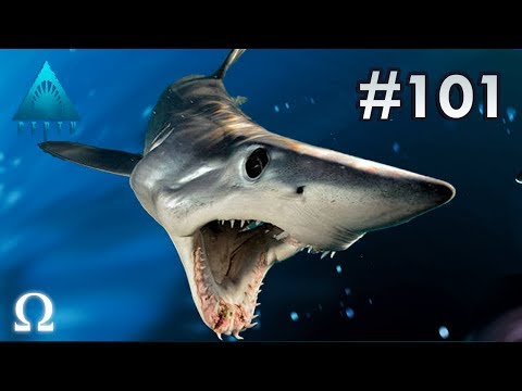 STABBIES FACES HIS GREATEST FEAR! | Depth Divers vs Sharks #101 Multiplayer Shark Rounds!