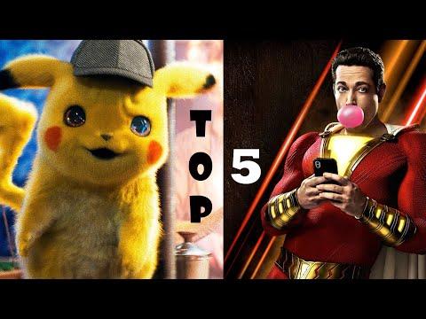 Топ-5 лучших комедий 2019! Самые смешные фильмы! Что посмотреть? Комедии на вечер