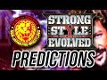 NJPW Strong Style Evolved Predictions