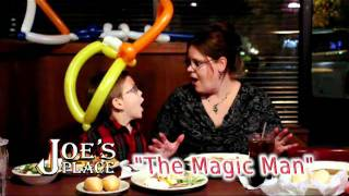 Joe s Place in Gainesville FL Kids Eat Free on Wednesdays w/ The Magic Man
