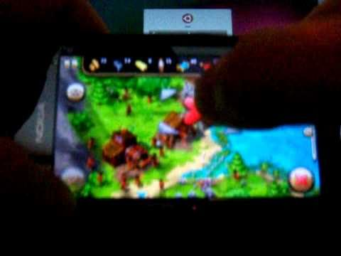 ●The Settlers HD на Symbian ^3(Nokia C7-00)