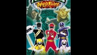Opening to Power Rangers Wild Force: Lion Heart 2002 VHS