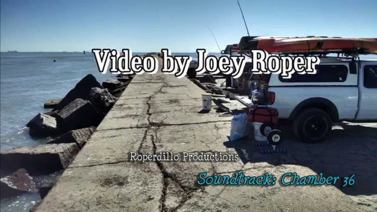 Port aransas jetty fishing youtube for Port aransas jetty fishing report