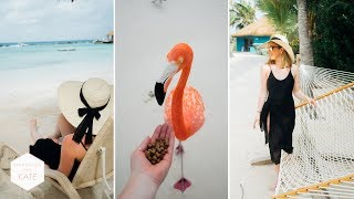 We got to see the Flamingos! | Aruba Vlog - In The Kitchen With Kate