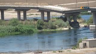 """سوريا.. مشاهد """"مفزعة"""" لنهر الفرات"""