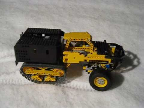 lego trial truck the half track youtube. Black Bedroom Furniture Sets. Home Design Ideas